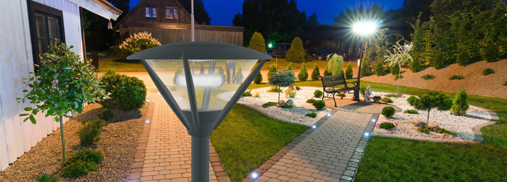 garden and outdoor electrodeless induction Residential lighting