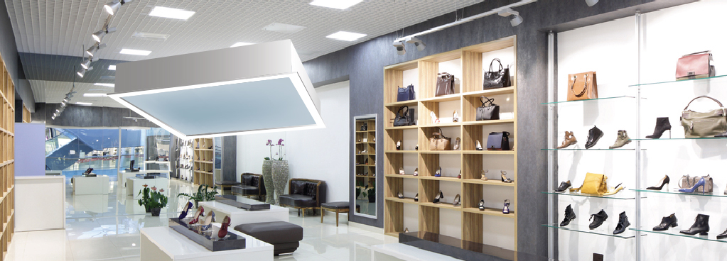 Magnetic Induction Commercial Lighting supply for retail