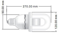 bulbo a induzione elettromagnetica Venus e27 - 60w