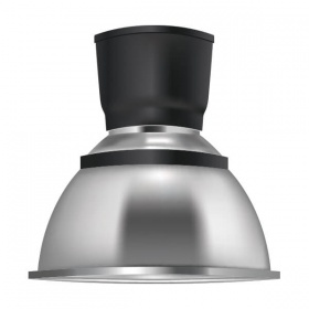 Low bay bell decorative lamp dome lens