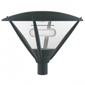 Streetlight outdoor lamp for gardens tortona - vector